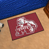 FANMATS Mississippi State University Multicolor Rectangular Indoor Machine-Made Sports Throw Rug (Common: 1-1/2 x 2-1/2; Actual: 19-in W x 30-in L x 0-ft Dia)
