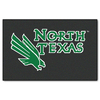 FANMATS 1-ft 7-in x 2-ft 6-in Rectangular NCAA UNT Mean Green Accent Rug