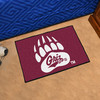 FANMATS University Of Montana Multicolor Rectangular Indoor Machine-Made Sports Throw Rug (Common: 1-1/2 x 2-1/2; Actual: 19-in W x 30-in L x 0-ft Dia)