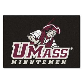 FANMATS University Of Massachusetts Multicolor Rectangular Indoor Machine-Made Sports Throw Rug (Common: 1-1/2 x 2-1/2; Actual: 19-in W x 30-in L x 0-ft Dia)
