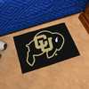 FANMATS University Of Colorado Multicolor Rectangular Indoor Machine-Made Sports Throw Rug (Common: 1-1/2 x 2-1/2; Actual: 19-in W x 30-in L x 0-ft Dia)
