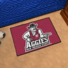 FANMATS New Mexico State University Multicolor Rectangular Indoor Machine-Made Sports Throw Rug (Common: 1-1/2 x 2-1/2; Actual: 19-in W x 30-in L x 0-ft Dia)