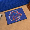 FANMATS Boise State University Multicolor Rectangular Indoor Machine-Made Sports Throw Rug (Common: 1-1/2 x 2-1/2; Actual: 19-in W x 30-in L x 0-ft Dia)