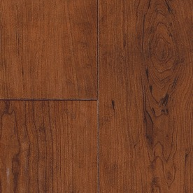 SwiftLock Plus Laminate 5-7/8-in W x 51-3/8-in L Rustic Cherry- Leather Laminate Flooring