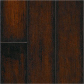 SwiftLock Plus Laminate 5-7/8-in W x 51-3/8-in L Hand Hewn Maple- Cocoa Laminate Flooring