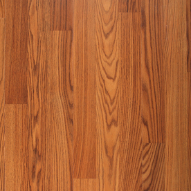Project Source Laminate 8-1/8-in W x 47-5/8-in L Amber Oak Laminate Flooring