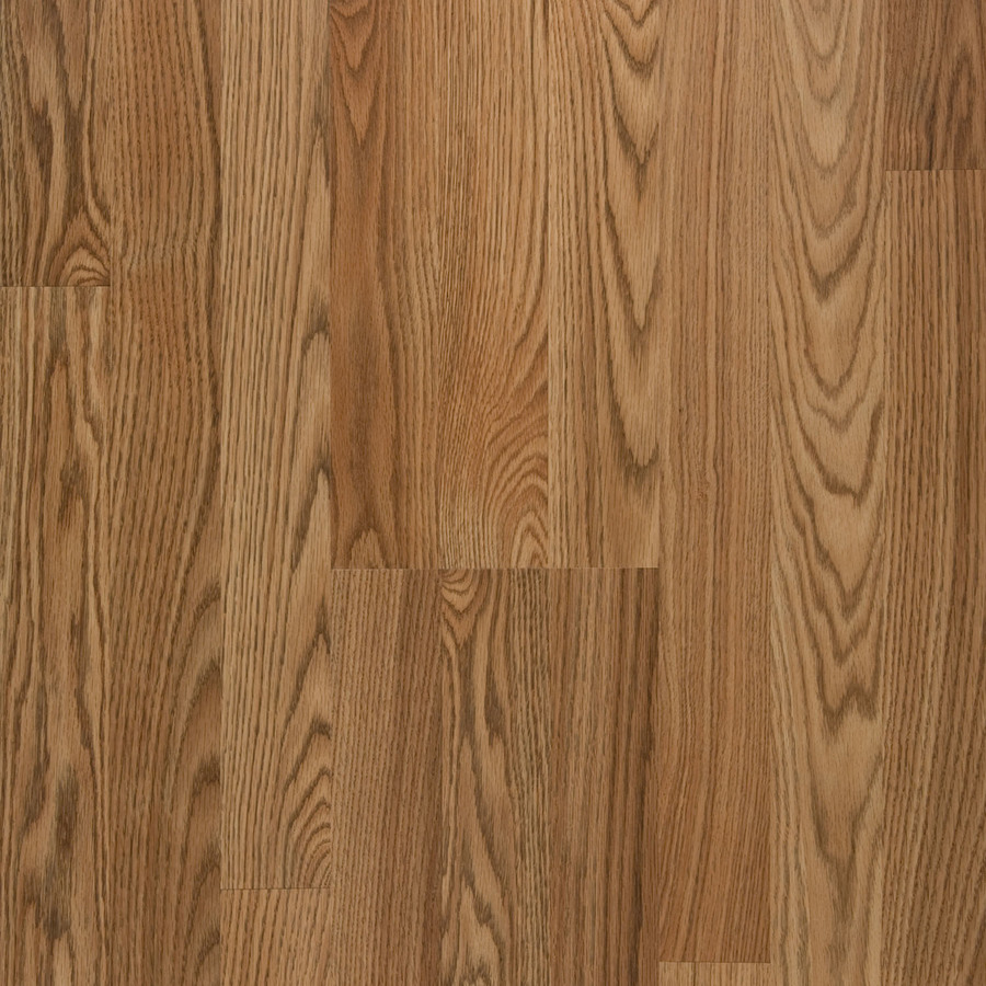 Shop Style Selections Laminate Embossed Oak Wood Planks Sample (Toffee ...