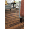 allen + roth Laminate 8.07-in W x 3.97-ft L Natural Tigerwood Smooth Laminate Wood Planks