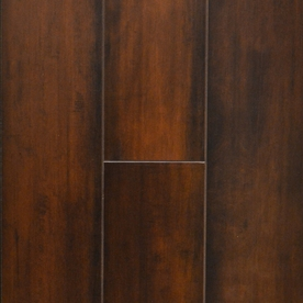 Laminate Flooring Samples allen + roth Smooth Maple Wood Planks Sample