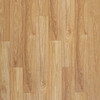 allen + roth 5.98-in W x 3.95-ft L Golden Butterscotch Embossed Laminate Floor Wood Planks