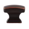Sumner Street Symmetry Oil-Rubbed Bronze Rectangular Cabinet Knob