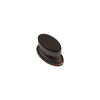 Sumner Street 1-1/2-in Oil-Rubbed Bronze Ovaline Oval Cabinet Knob