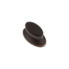 Sumner Street 2-in Oil-Rubbed Bronze Ovaline Oval Cabinet Knob