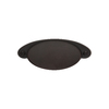 Sumner Street 3-in Center-to-Center Oil-Rubbed Bronze Ovaline Cup Cabinet Pull