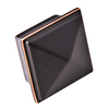 Sumner Street 1-1/4-in Oil-Rubbed Bronze Symmetry Square Cabinet Knob
