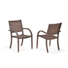 allen + roth Set of 2 Woodwinds Wood Patio Dining Chairs