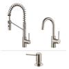 Kraus Kitchen Faucet Set 1-Handle High-Arc Sink/Counter Mount Traditional Kitchen Faucet