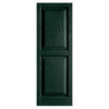 Alpha 2-Pack Pine Raised Panel Vinyl Exterior Shutters (Common: 15-in x 35-in; Actual: 14.75-in x 34.63-in)