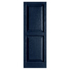 Alpha 2-Pack Royal Raised Panel Vinyl Exterior Shutters (Common: 15-in x 47-in; Actual: 14.75-in x 46.5-in)