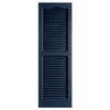Alpha 2-Pack Royal Louvered Vinyl Exterior Shutters (Common: 14-in x 35-in; Actual: 13.75-in x 34.75-in)