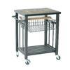 Sunjoy 33.1-in H x 24.8-in W x 20.5-in D Steel Outdoor Cart
