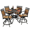 Sunjoy 5-Piece Aluminum Patio Dining Set