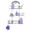 Odyssey Chrome Stainless Steel Bathtub Caddy