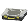 Centrex Plastics, LLC 17.731-in W x 4.27-in D Black Plastic Bin