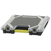 Centrex Plastics, LLC 15.45-in W x 2.825-in D Black Plastic Bin