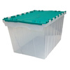 Centrex Plastics, LLC 12-Gallon Tote with Hinged Lid