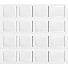 Wayne dalton 9100 series 108 in x 84 in insulated white single garage