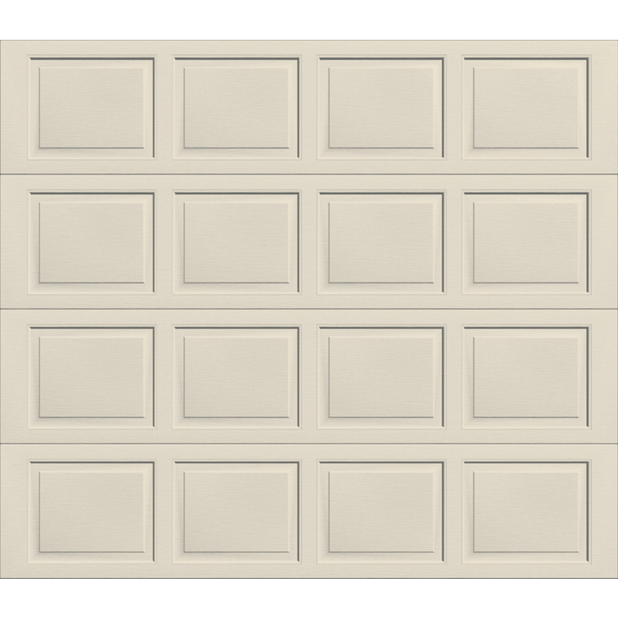 Shop wayne dalton 9100 series 9 ft x 7 ft insulated almond for Wayne dalton 9100 series