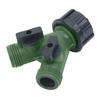 Yardsmith Plastic 2-Way Restricted-Flow Water Shut-Off