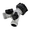 Yardsmith 2-Way Restricted-Flow Water Shut-Off