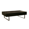 Baxton Studio Black Composite Rectangular Coffee Table