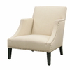 Baxton Studio Cream Club Chair