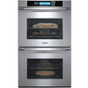 Dacor 27-in Self-Cleaning Convection Double Electric Wall Oven (Stainless Steel)