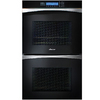 Dacor 27-in Self-Cleaning Convection Double Electric Wall Oven (Black Glass)
