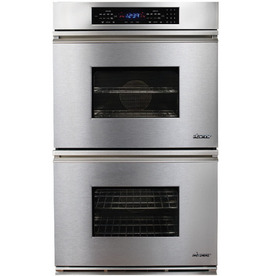 Dacor Convection Single-Fan Double Electric Wall Oven (Stainless Steel) (Common: 27-in; Actual: 26.87-in)