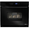 Dacor 27-in Self-Cleaning Convection Single Electric Wall Oven (Black)