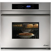 Dacor 30-in Self-Cleaning Convection Single Electric Wall Oven (Stainless Steel)