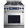 Dacor 30-in 3.9 cu ft Self-Cleaning Convection Dual Fuel Range (Stainless Steel)