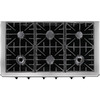 Dacor Discovery 6-Burner Gas Cooktop (Stainless Steel) (Common: 48-in; Actual: 47.875-in)