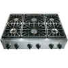 Dacor Discovery 6-Burner Gas Cooktop (Stainless Steel) (Common: 36-in; Actual: 35.875-in)