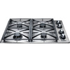Dacor 30-Inch 4-Burner Gas Cooktop (Color: Stainless Steel)
