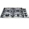 Dacor Renaissance 4-Burner Gas Cooktop (Stainless Steel) (Common: 30-in; Actual: 30-in)