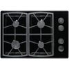 Dacor Renaissance 4-Burner Gas Cooktop (Black) (Common: 30-in; Actual: 30-in)