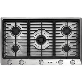Dacor 36-in 5-Burner Gas Cooktop (Stainless)