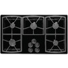 Dacor Classic 5-Burner Gas Cooktop (Black) (Common: 36-in; Actual: 36-in)
