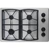 Dacor Classic 4-Burner Gas Cooktop (Stainless Steel) (Common: 30-in; Actual: 30-in)